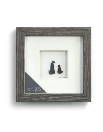"Furever Friends Wall Art - 6""sq."
