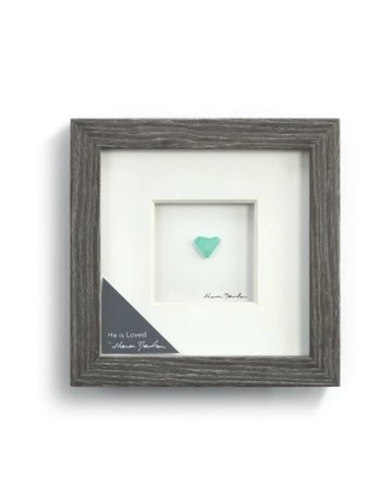 "He is Loved Wall Art - 6""sq."