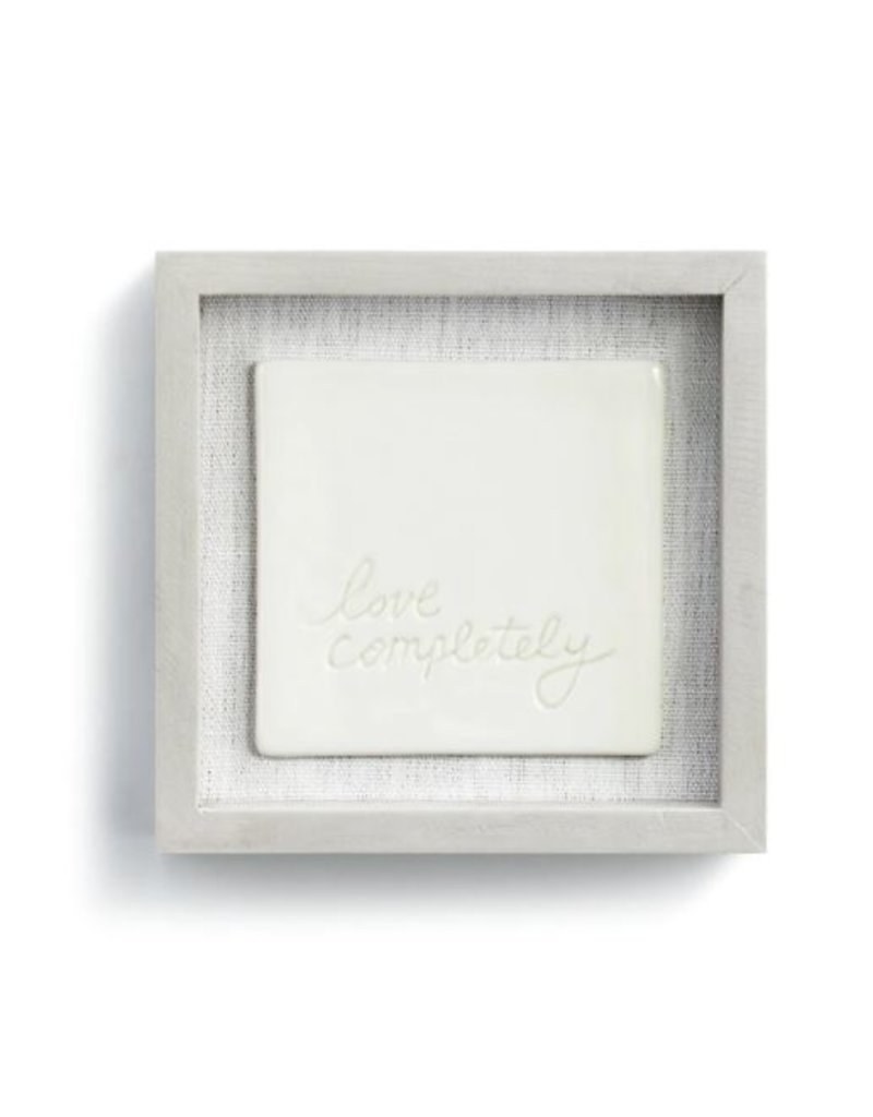 """Love Completely Wall Art - 6""""sq."""