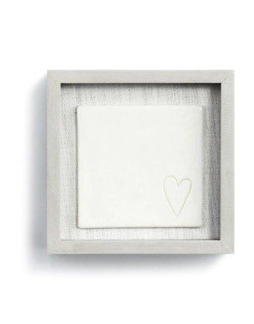 "Love in Every Corner Wall Art - 6""sq."