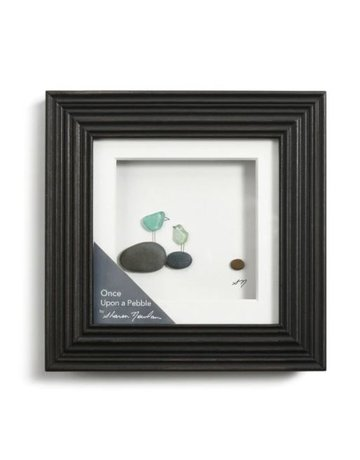 Once Upon a Pebble Wall Art - 6x6