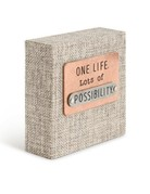 One Life Plaque
