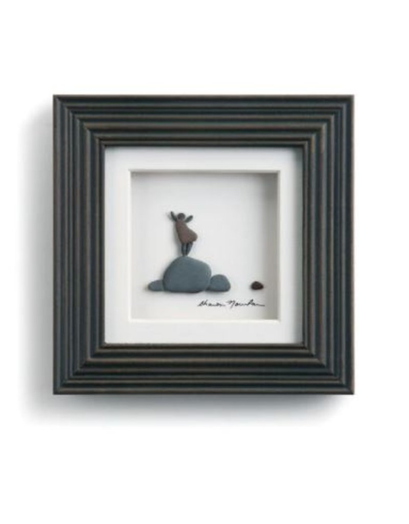 """The Little Things Wall Art - 6""""sq."""