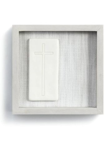 "Unwavering Faith Wall Art - 6""sq."