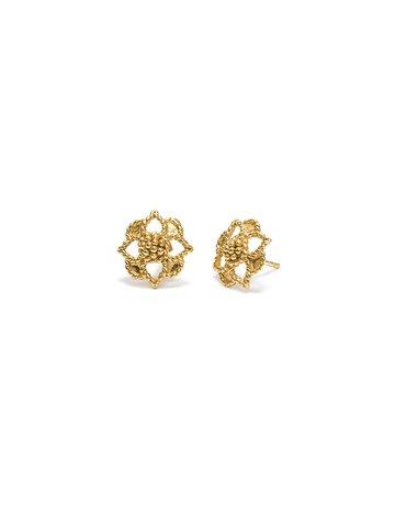 Capucine De Wulf Daisy Stud Earring Gold