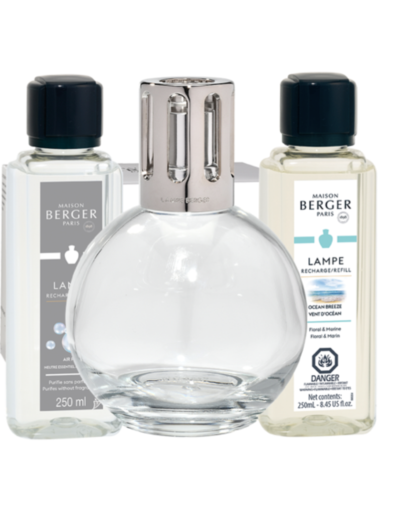 Maison Lampe Berger Essential Round Lampe Gift Set