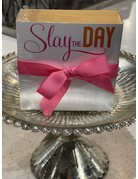 Mini Luxe Notepad- Slay the Day