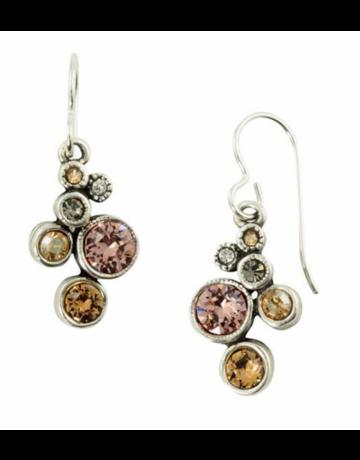 Patricia Locke Splash Earrings in Silver