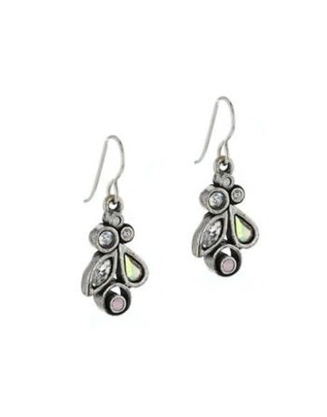 Patricia Locke Queen Bee Earrings in Silver