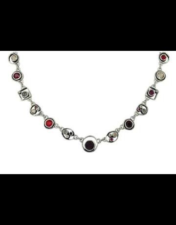 Patricia Locke Penny Arcade Necklace in Silver