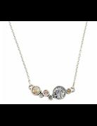 Patricia Locke Curtain Call Necklace in Silver
