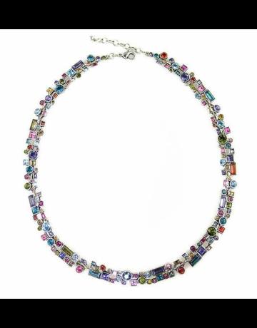 Patricia Locke Confetti Necklace in Silver
