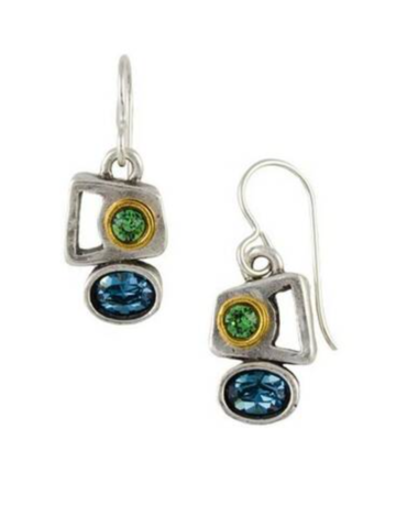 Patricia Locke Here & There Earrings in Silver