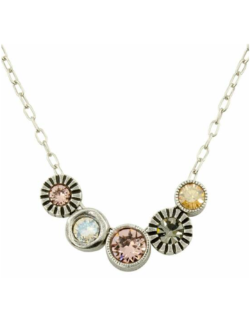 Patricia Locke Pennies From Heaven Necklace in Silver