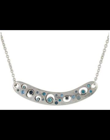 Patricia Locke Nebula Necklace in Silver