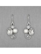 Patricia Locke Mercy Earrings in Silver