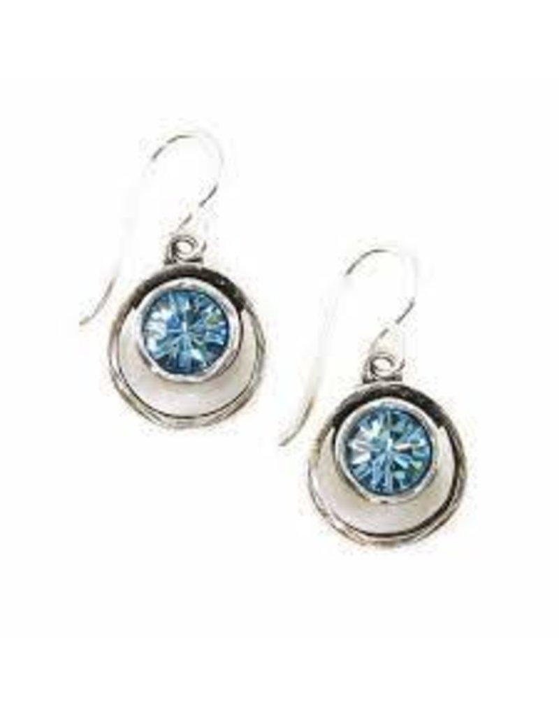 Patricia Locke Skeeball Earrings in Silver