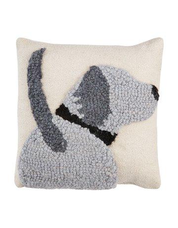 Mud Pie Dog Small Hook Pillow