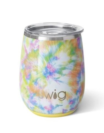 Swig-Occasionally Made, LLC 14oz. Stemless Cup-You Glow Girl
