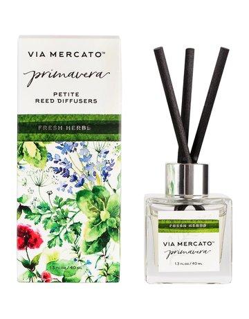 Vm-Primavera (Petite Reed Diffuser -Fresh Herbs)