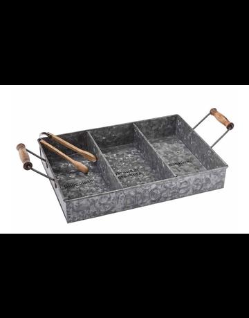 Mud Pie Smore Tin Tray Set