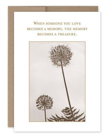 Shannon Martin Memory Treasure Sym Card