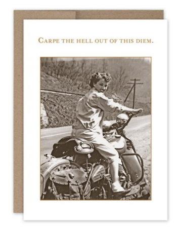 Shannon Martin Carpe Diem Birthday Card