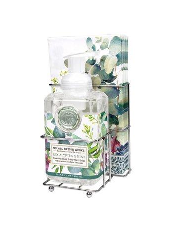 Michel Design Works Eucalyptus & Mint Foaming Soap Napkin Set