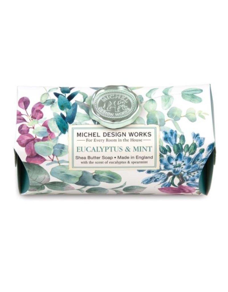 Michel Design Works Eucalyptus & Mint Large Bath Soap Bar