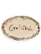 "Juliska Forest Walk Gratitude 15"" Platter"