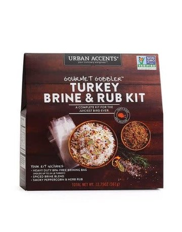 Stonewall Kitchen Gourmet Gobbler Turkey Brine & Rub Kit
