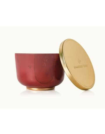 Simmered Cider Poured Candle Tin, Gold Lid
