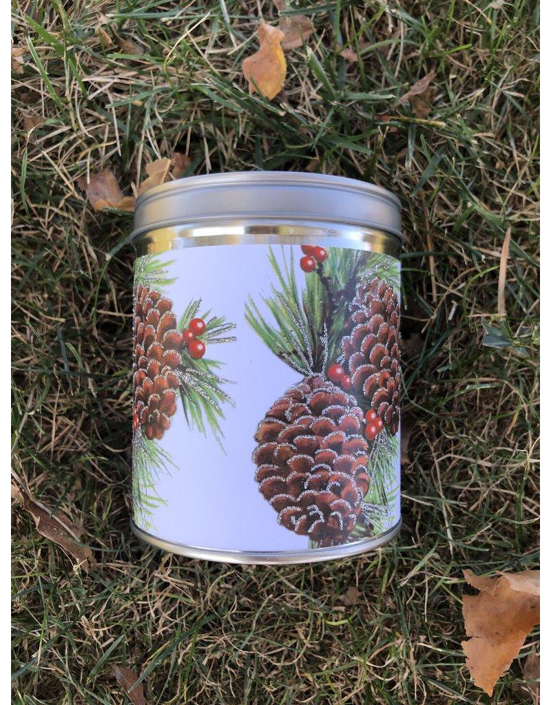 Aunt Sadies Glitter Pine Cones