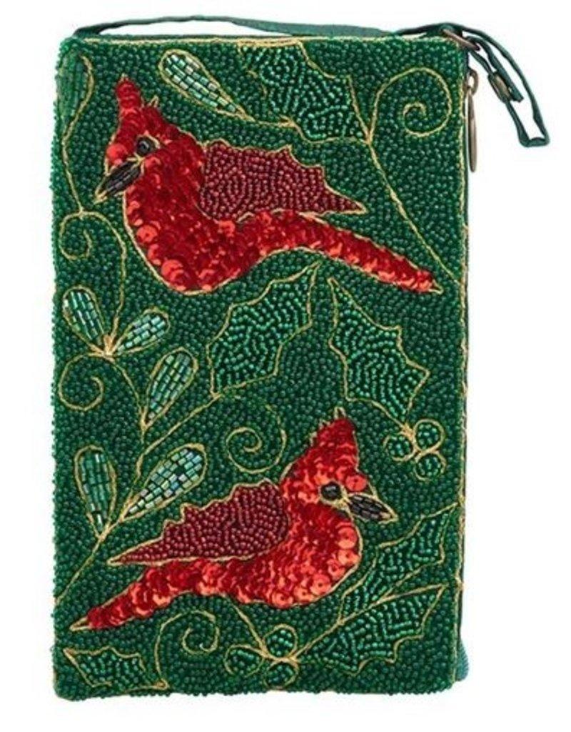 Bamboo Trading Company Club Bag Christmas Cardinal