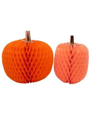 Meri Meri Giant Honeycomb Pumpkins