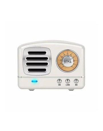 Funky Rico Retro Bluetooth Speaker- White