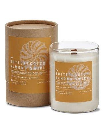 Butterscotch & Almond Candle