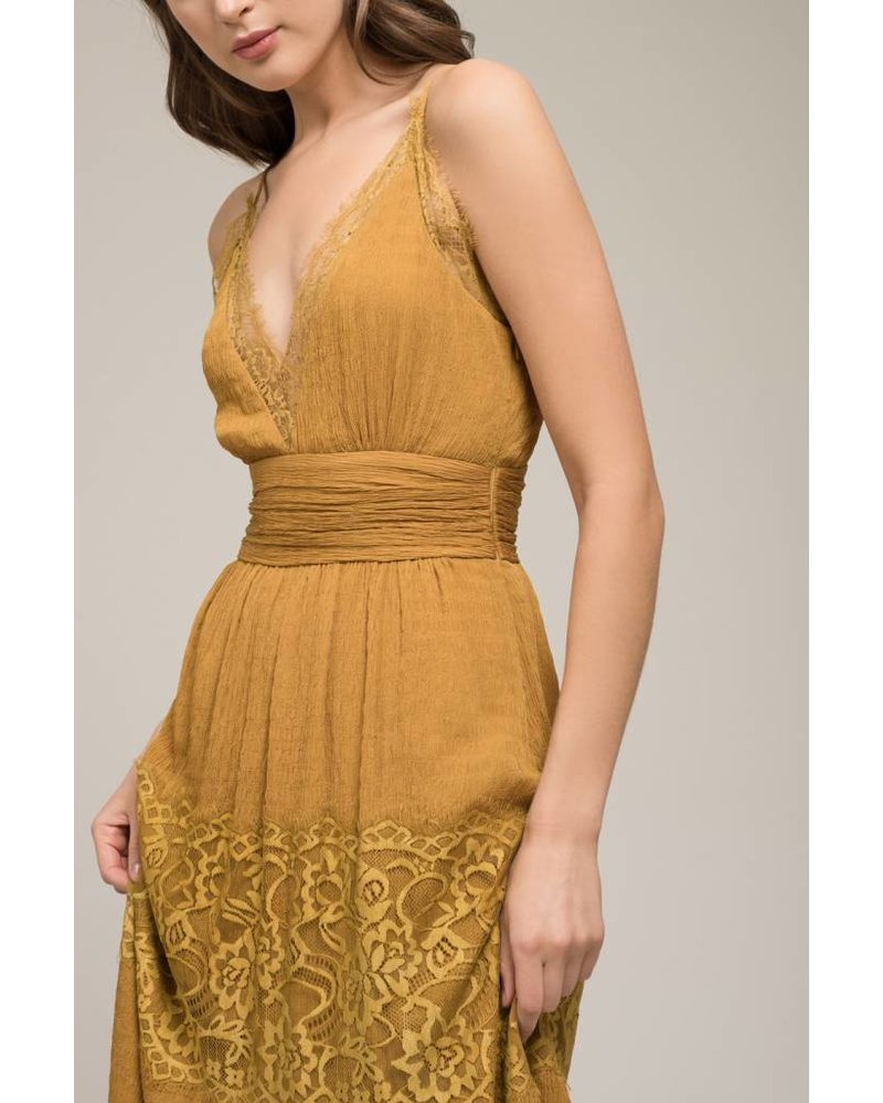 Moon River Belle Strap Dress