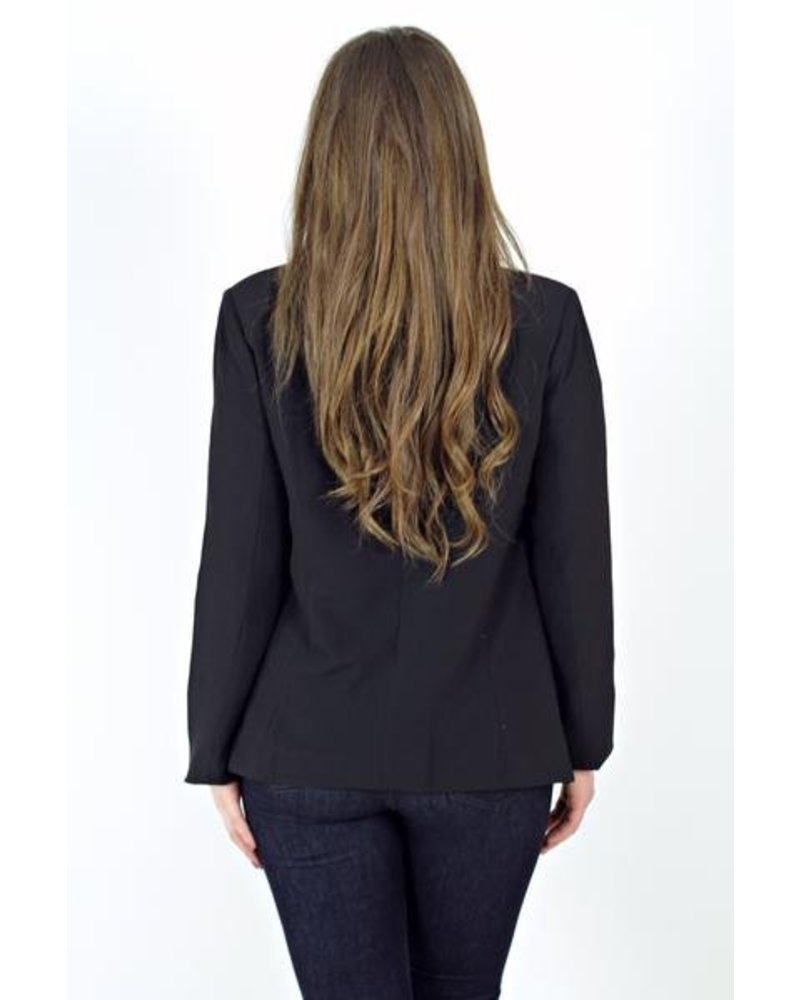 Black Collar Blazer