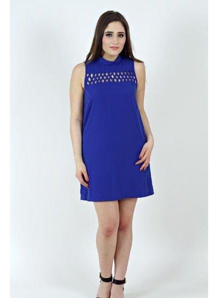 Cutout Sleeveless Dress