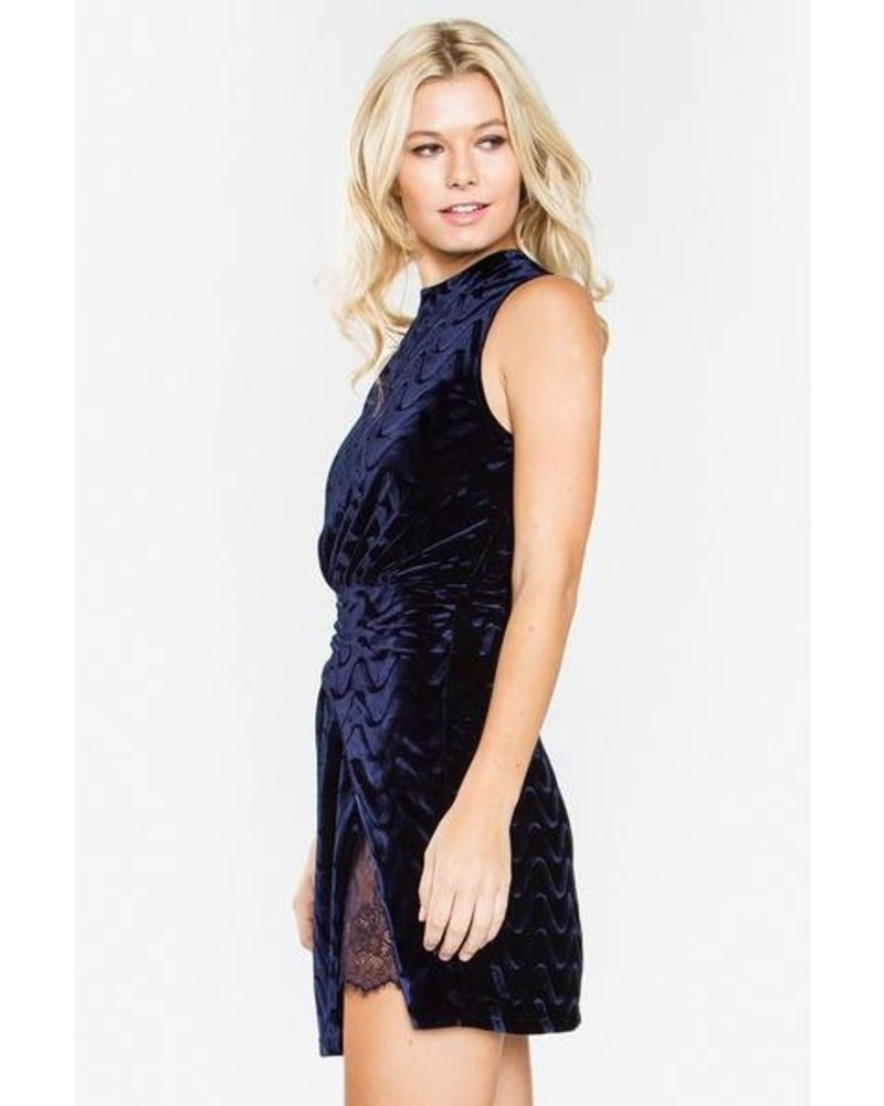 Giselle Velvet Dress