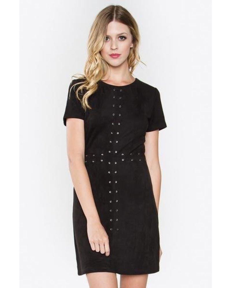 Milena Suede Dress