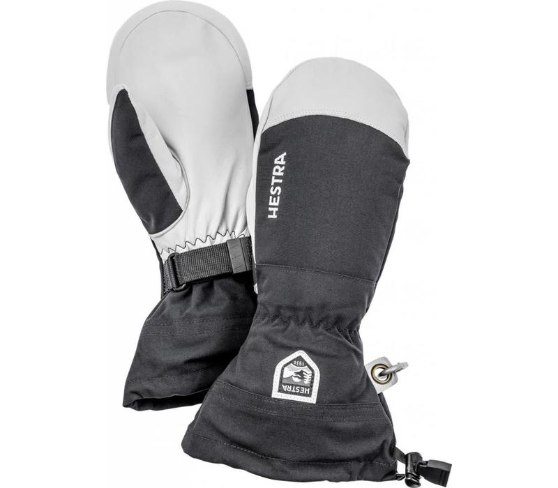 Army Leather Heli Ski Mitt