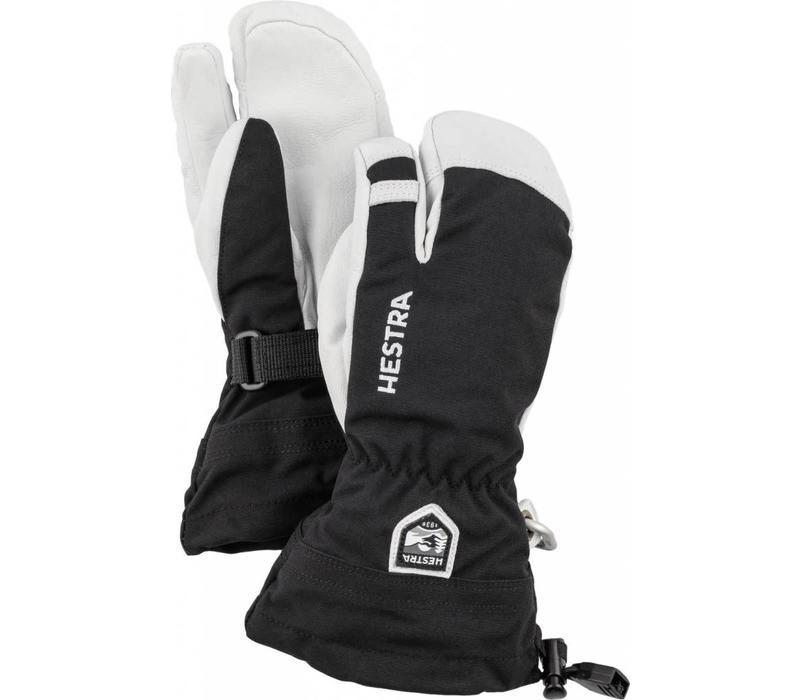 Army Leather Heli Ski 3 Finger Jr