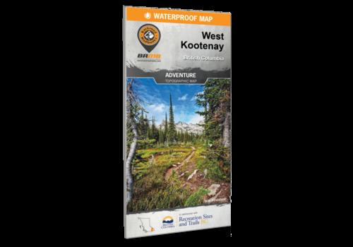 Maps West Kootenay BC