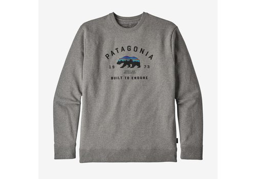 Patagonia Arched Fitz Roy Bear Uprisal Crew Sweatshirt M's