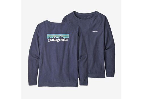 Patagonia Pastel L/S P-6 Logo Responsibili-Tee W's