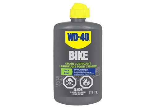 WD-40 Bike Dry Chain Lubricant 118ml