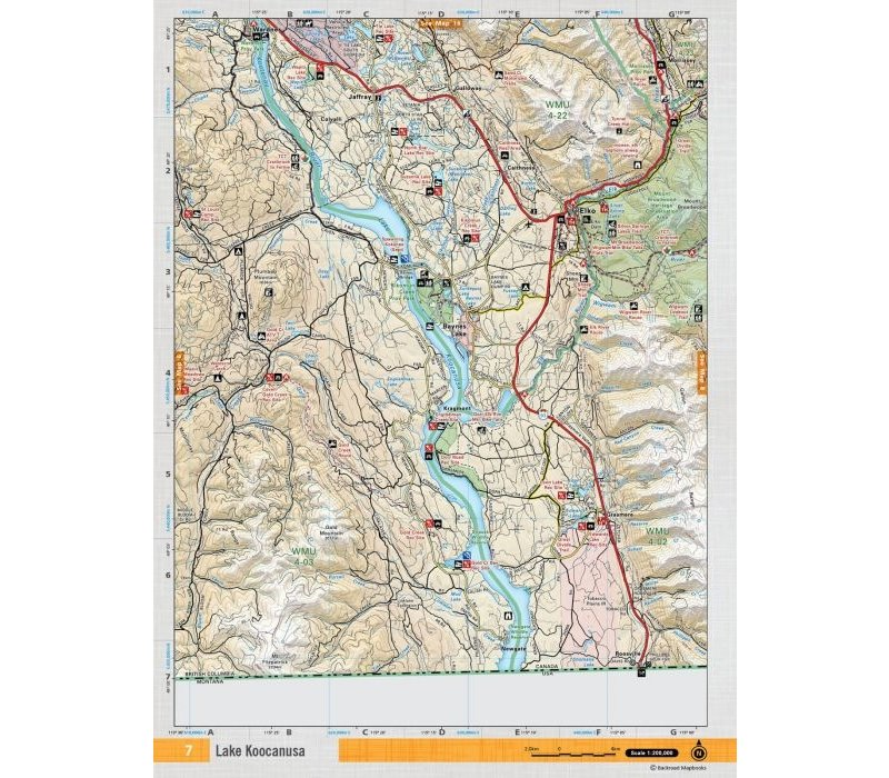 Adventure Map 1:65,000