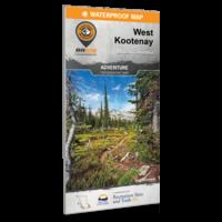 West Kootenay BC map